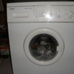 Сименс. Надёжная стиральная машинка.