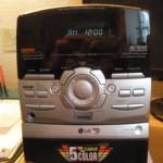 музыкальный центр – LG модель FFH 216AX